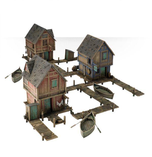 hobbit lake town gel nde br ckenkopf das. Black Bedroom Furniture Sets. Home Design Ideas