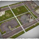Deep Cut Studio_Wargames terrain mat – Walking Dead Town 3