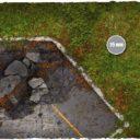 Deep Cut Studio_Wargames terrain mat – Walking Dead Town 5