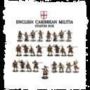 FLG Firelock English Caribbean Militia Starter Box
