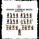 FLG Firelock Spanish Caribbean Militia Starter Box