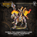 PiP Warmachine Feora The Conquering Flame