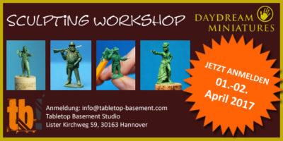 TB Tabletop Basement Modellierworkshop Flyer Kopie
