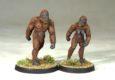 Antediluvian Miniatures haben ein Set früher Hominiden veröffentlicht.