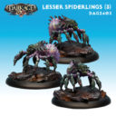 DA Dark AGe Shadow Caste Lesser Spiderlings