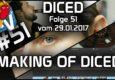 Die neue Staffel von Diced ist da und sie startet mit einem absolut ernst gemeinten Making of.