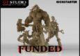 GT Studio, hinter denen sich unter Anderem niemand geringerer als Fausto Gutiérrez versteckt, bitten auf Kickstarter um Unterstützung dabei, eine wilde Ork-Bande zu produzieren!