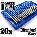 Green Stuff World_Diamond Burr Set with 20 tips 1