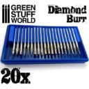 Green Stuff World_Diamond Burr Set with 20 tips 2