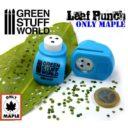 Green Stuff World_Miniature Leaf Punch MEDIUM BLUE 1