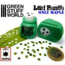 Green Stuff World_Miniature Leaf Punch MEDIUM GREEN 1
