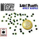 Green Stuff World_Miniature Leaf Punch MEDIUM GREEN 2