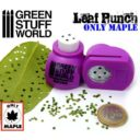 Green Stuff World_Miniature Leaf Punch MEDIUM PURPLE 1