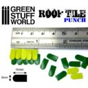 Green Stuff World_Miniature ROOF TILE Punch 2