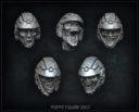 Puppets War Sci-Fi Zombieköpfe