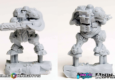 Ninja Division zeigen neue Relic Knights Resin-Previews.