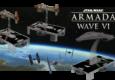 Auch bei den großen Schiffen geht es voran, Rebellen und Imperium bekommen je eine neue Flottenauswahl.