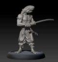GCT Studio_Bushido Araka Swordsman Render