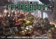 Games Workshop enthüllen ein neues Spiel, Shadow War Armageddon, das wohl in den Ruinen der Makropolen von Armageddon spielen wird und Orks gegen Scouts der Blood Angels in den Kampf führt.