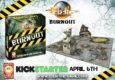 Happy Games Factory zeigen einige März-Neuheiten auf Facebook. Auch der Burnout-Kickstarter für April wird angeteasert.