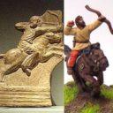 Khurasan Elefanten und Parthien Kavallerie 03