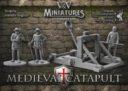 V&V Miniatures Medieval Catapult 1
