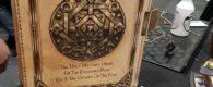 Auf der Salute 2017 zeigten 4Ground Verpackungskonzepte für ihr kommende Fantasy Spiel The Fabled Realms.