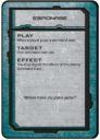 Dropfleet Commander Kommandokarten 01