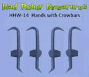 MRM_Mad_Robot_Miniatures_Waffenhände_Power_Mauls_Knives_Auto_Pistols_6