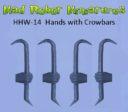 MRM_Mad_Robot_Miniatures_Waffenhände_Power_Mauls_Knives_Auto_Pistols_6
