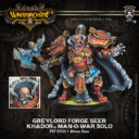 PiP Warmachine Greylord Forge Seer