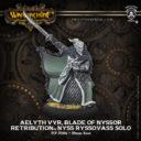 PiP Warmachine Aelyth Vyr, Blade of Nyssor