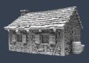 TW Tabletop World Cottage 6
