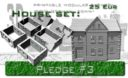 ES Eslo Printable Scenery World War II German Town 3D Models 7