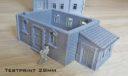 ES Eslo Printable Scenery World War II German Town 3D Models 9