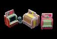 Von Micro Art Studio kommen neue Bases und ein Essensstand.