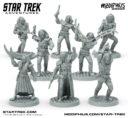 ME Modiphius Klingonen Star Trek