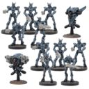 MG Mantic Warpath Asterianer Marionettes 1