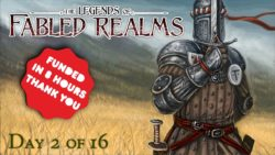 4G 4ground Legend Of The Fabled Realms Kickstarter 1