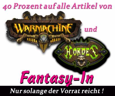 AdW Fantasy In Banner Warmachine Hordes