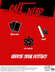 Club Cafe Nerd Plakat