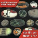 Death Ray Base Inserts