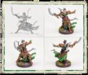 Fantasy Flight Games Runewars Latari Elves Infantry Command Unit 3