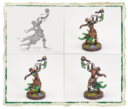 Fantasy Flight Games Runewars Latari Elves Infantry Command Unit 5