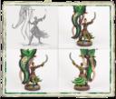 Fantasy Flight Games Runewars Latari Elves Infantry Command Unit 7