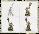 Fantasy Flight Games Runewars Latari Elves Infantry Command Unit 9