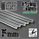 GSW Acrylic Rods Round 5 Mm Clear