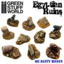 GSW Egyptian Ruins Resin Set 01