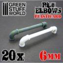 GSW Plasticard Pipe Elbows 6mm 01