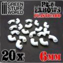 GSW Plasticard Pipe Elbows 6mm 02